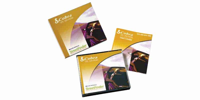 GPA1500SW - Cobra® Gps Solutions Software-4 Card W/Case