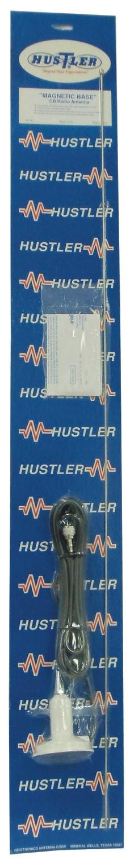 "IC75-W - Hustler 43"" Base Loaded Magnet Mount CB Antenna Kit"