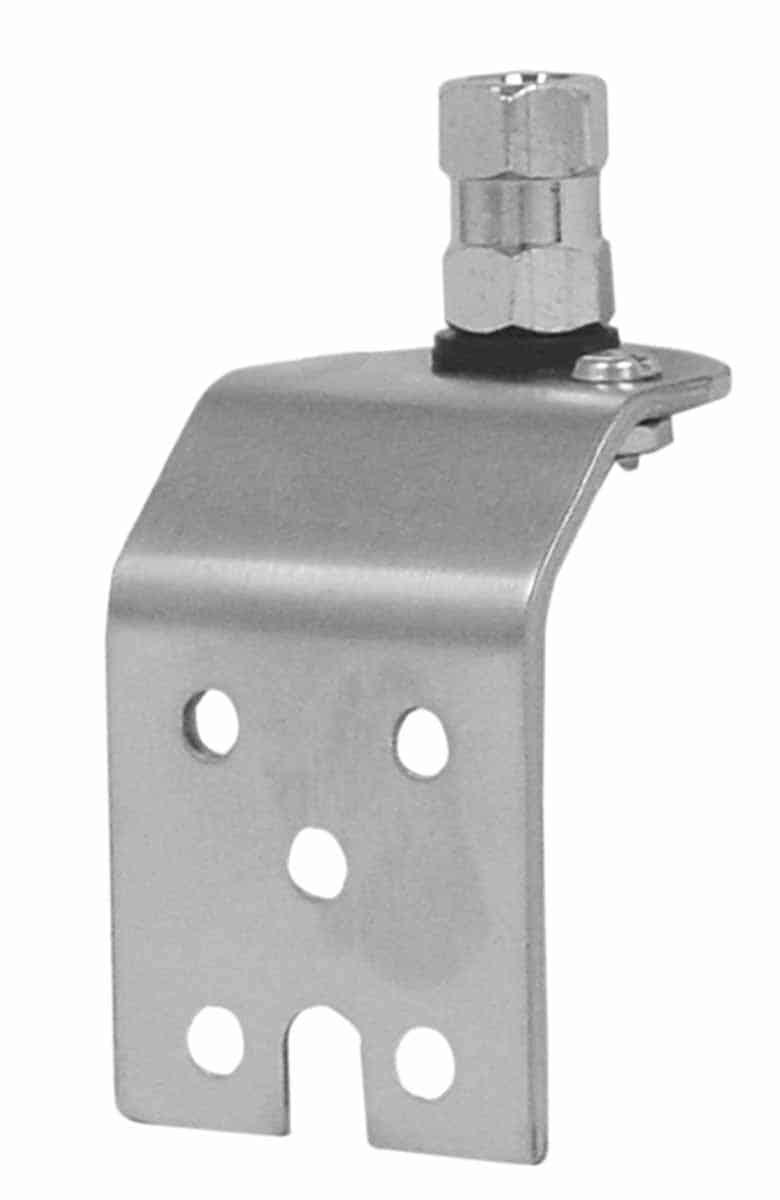 K13 - Kalibur Stainless Steel Angled Side Or Fender Antenna Mount