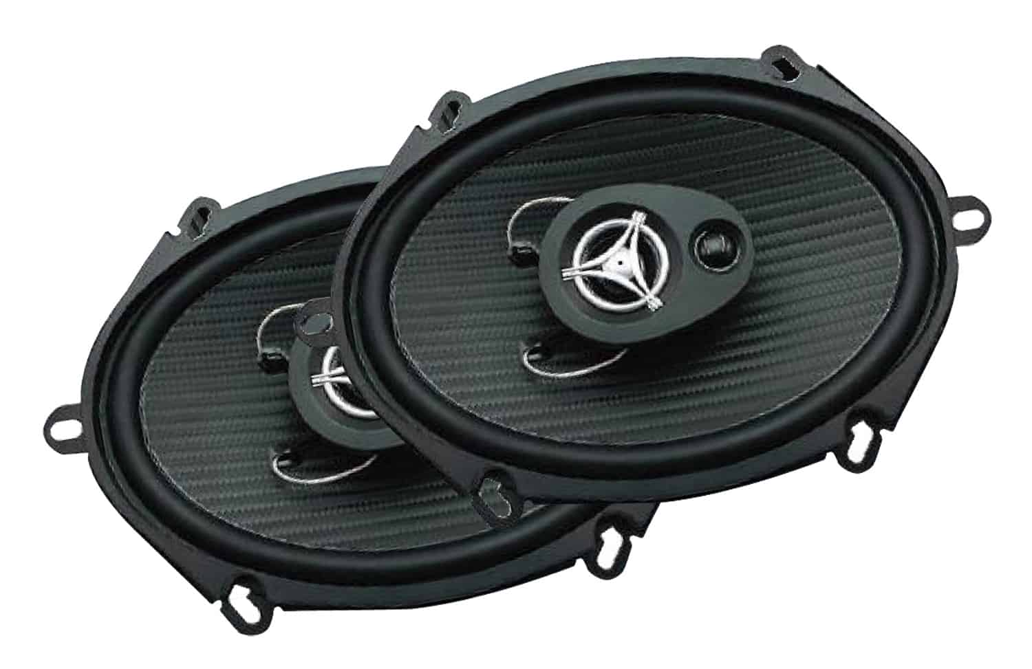 "EF573 - Power Acoustik 5"" x 7"" 500 Watt Speaker Pair"