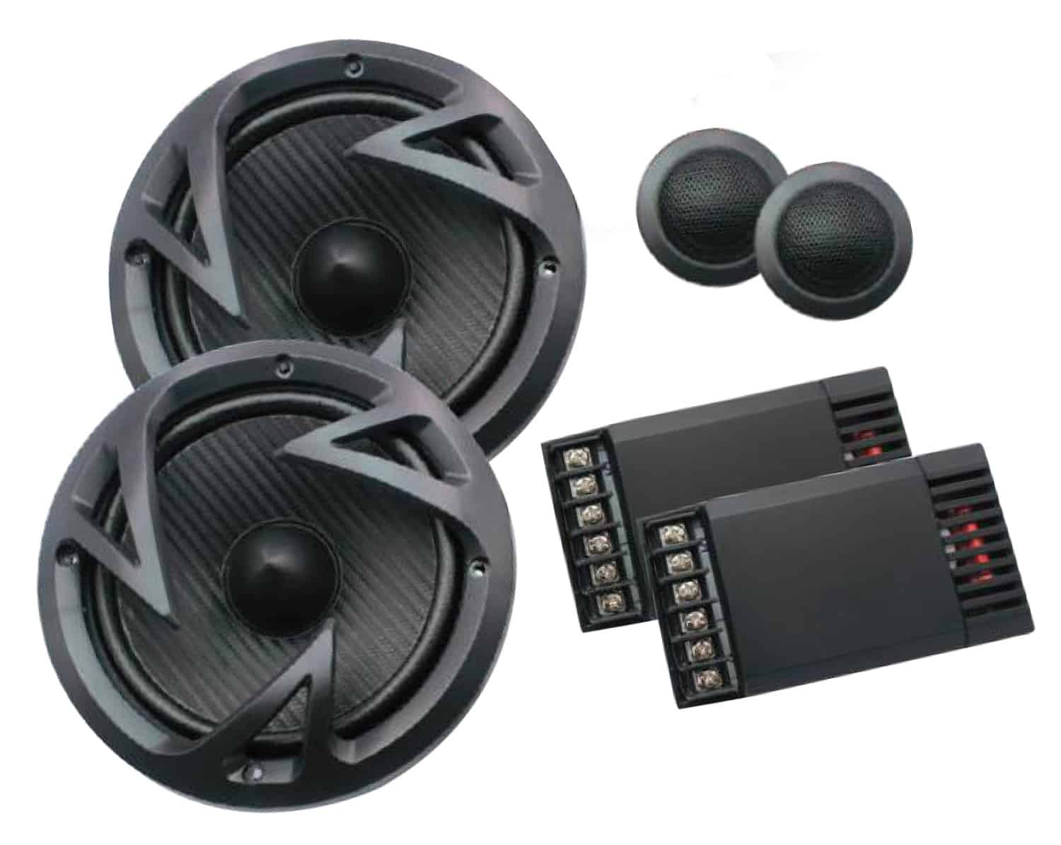 "EF60C - Power Acoustik 6-1/2"" 500 Watt Component System"