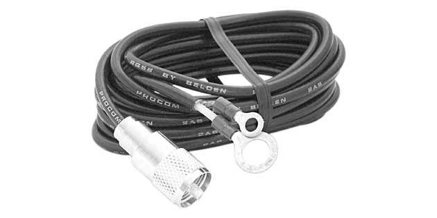 PLXXJ  - RG58 Coax Cable With Lug Connector
