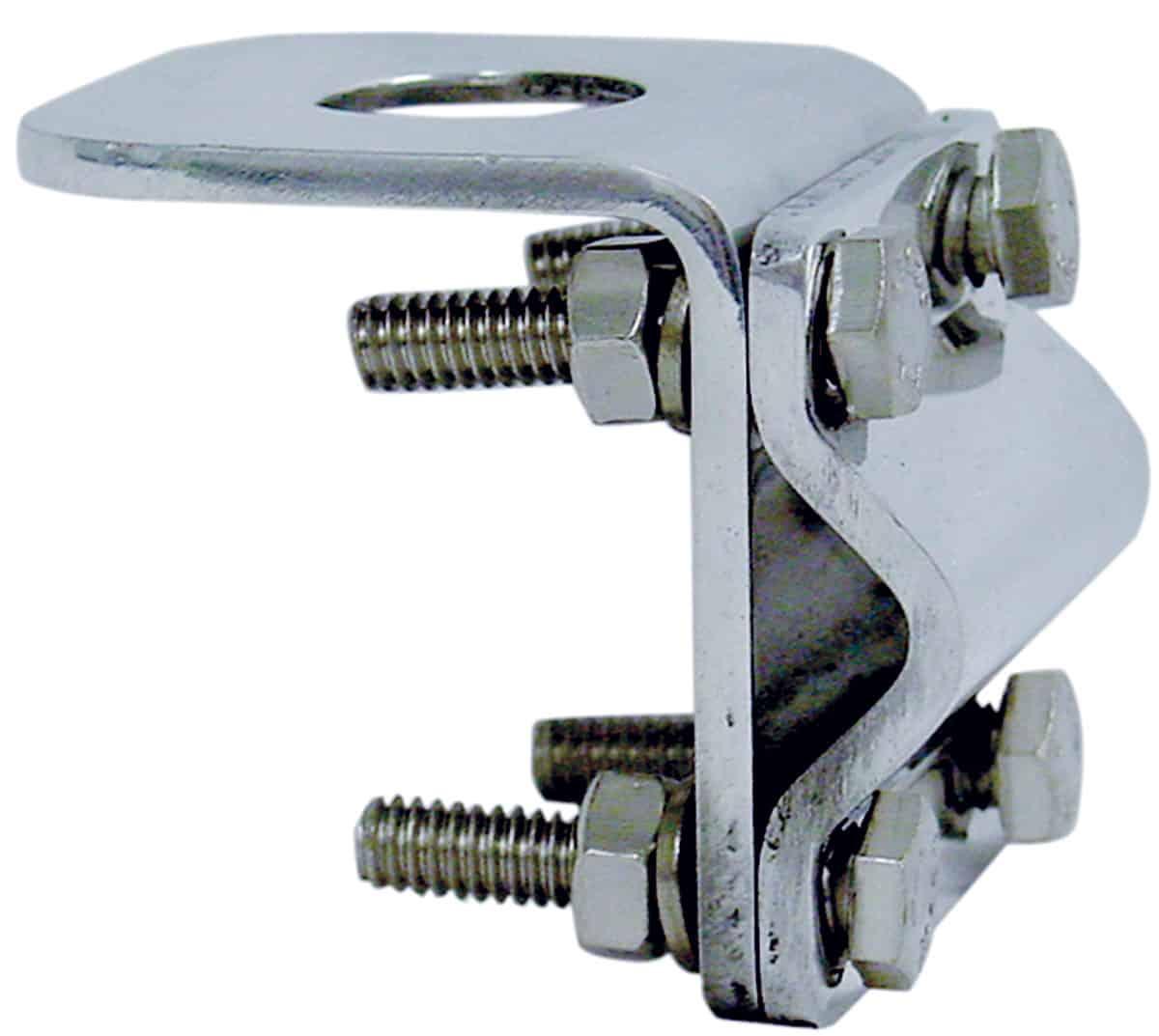 KSSMM34 - Kalibur Stainless Steel 3-Way Mirror Mount for Antenna