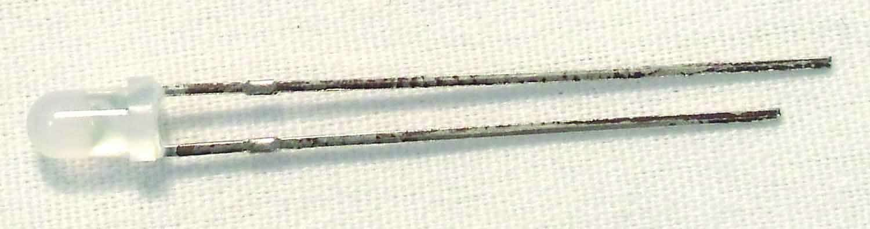 LED-3-BL - EKL 10 Pack 3mm 4.5 Volt Led (Blue)