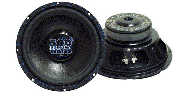 "LWX1070R - Pyramid 10"" 300/700 Watts High Performance Poly Woofer Speaker"
