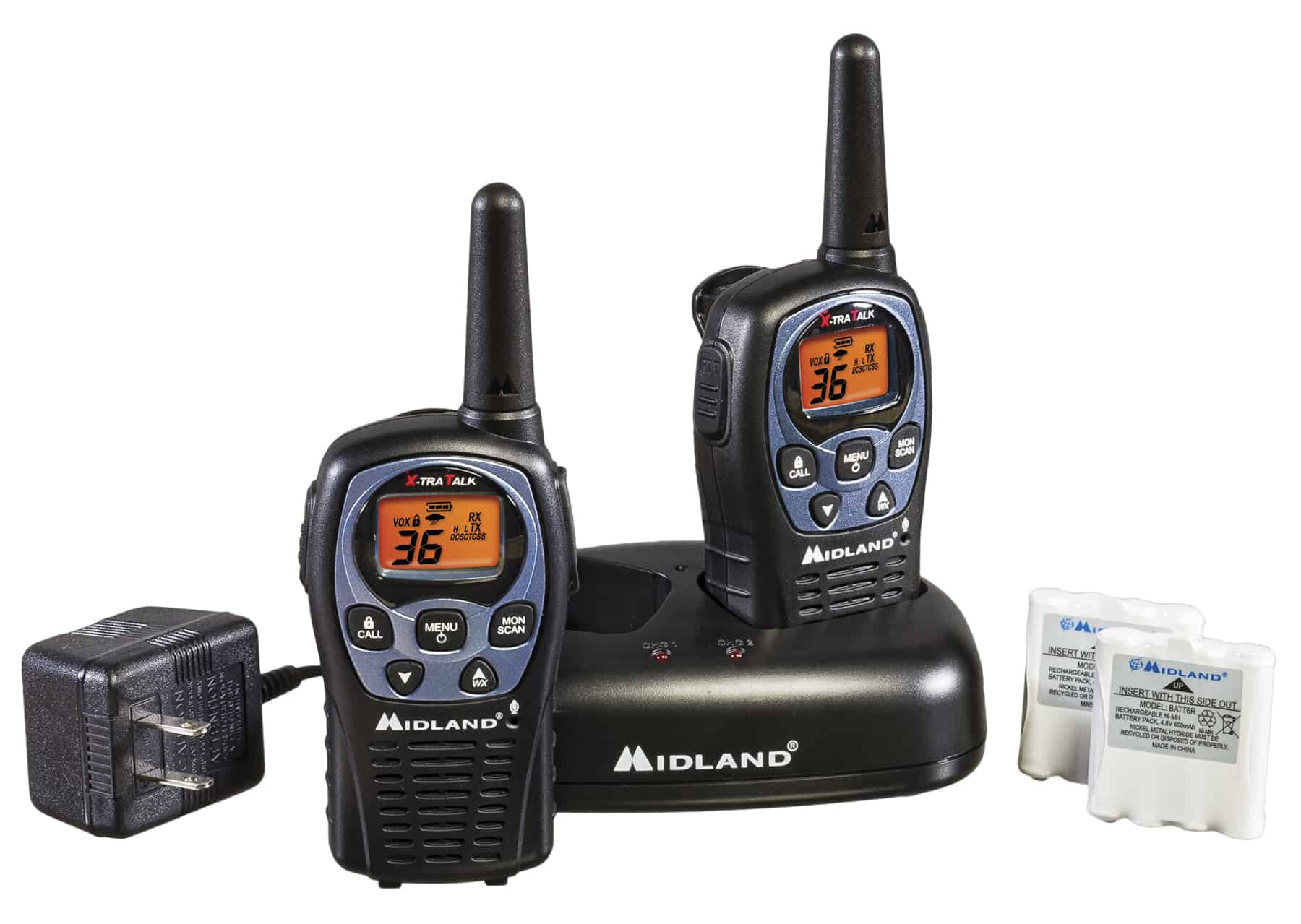 LXT560VP3 - Midland 36 Channel FRS/GMRS Radio Handheld Pair