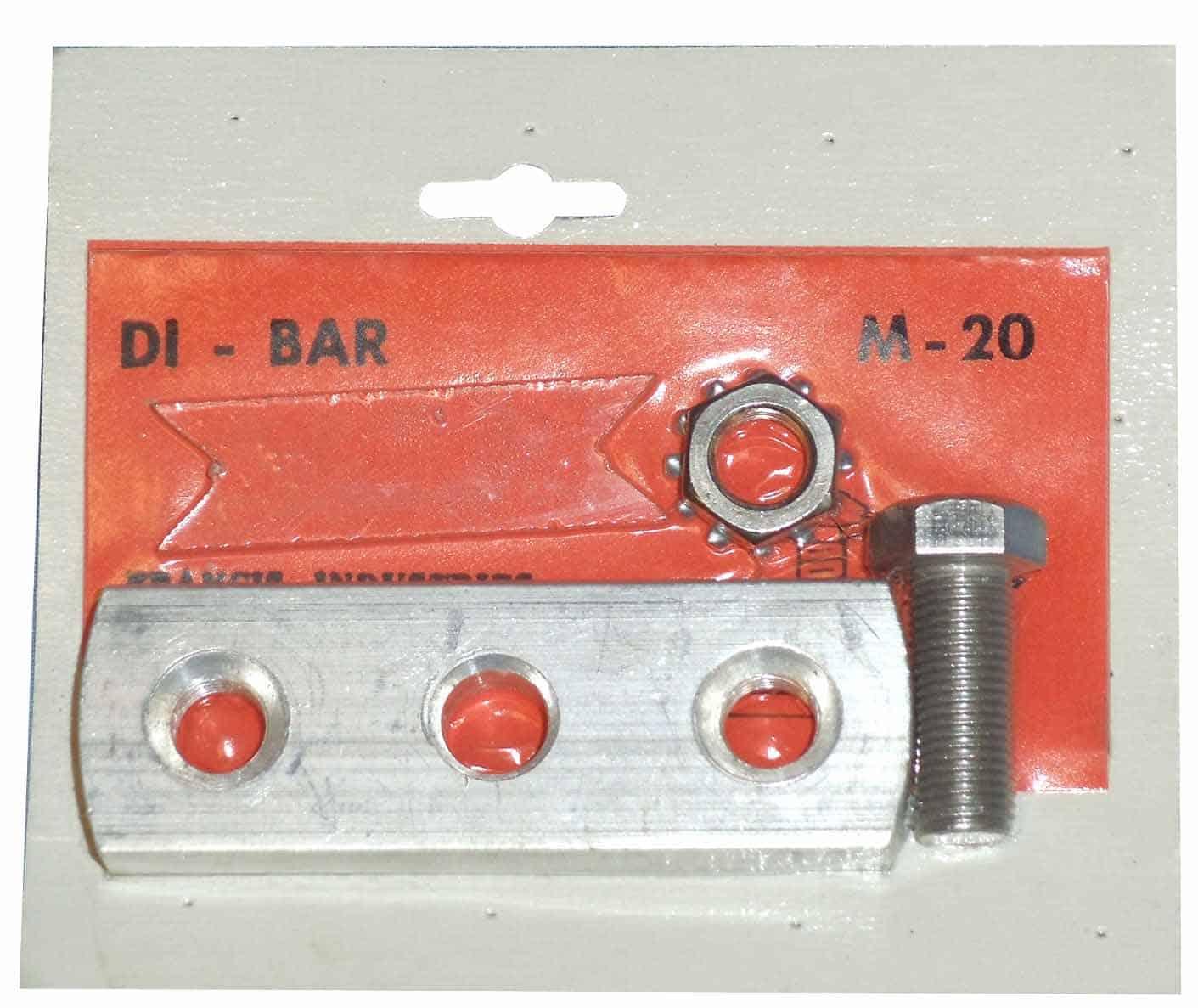 M20 - Francis Aluminum Three Hole Di-Bar For Co-Phasing Antennas