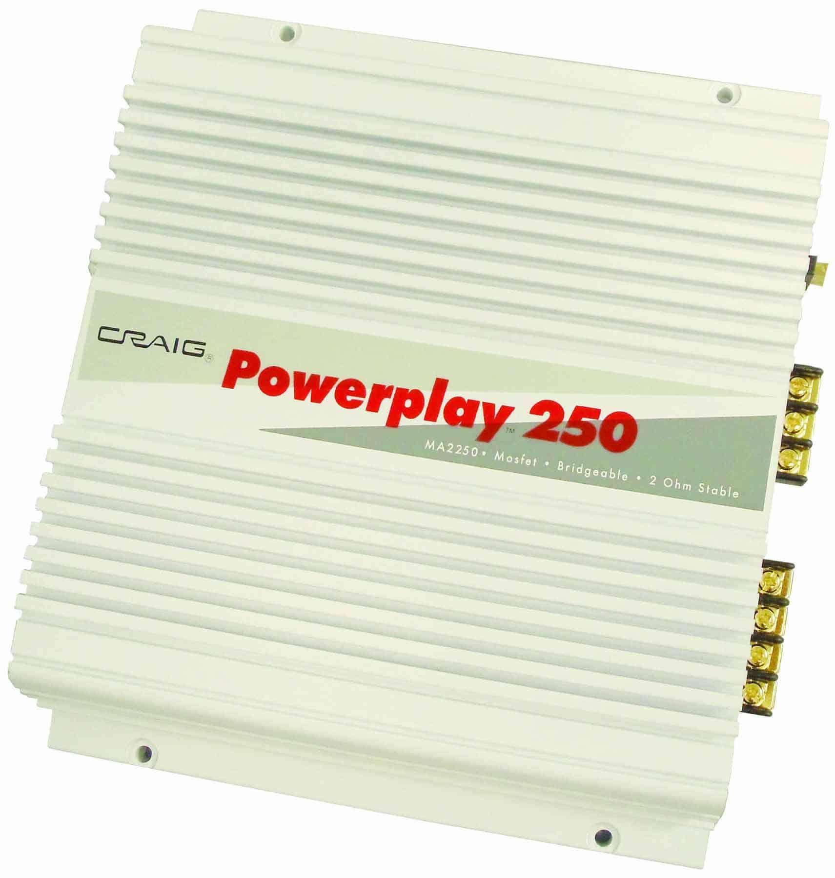 MA2250 - Craig 250 Watt 2 Channel Amplifier