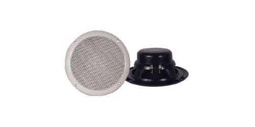"""MDC7 - Pyramid 6.5"""" Full Range White Waterproof Speaker Pair"""