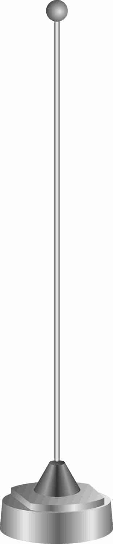 MHB1520 - Maxrad 152-162Mhz Unity Antenna Only