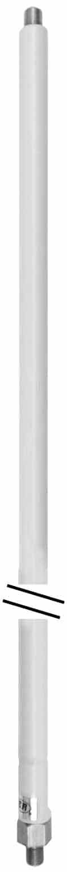 """MO3 - Hustler 54"""" Aluminum Antenna Mast With White Coating"""