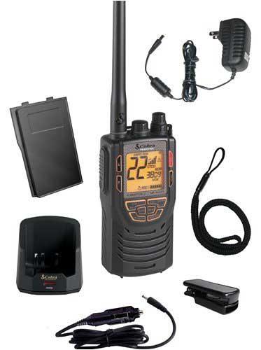 MRHH425LIVP - Cobra® 5 Watt Marine VHF And GMRS Handheld Radio