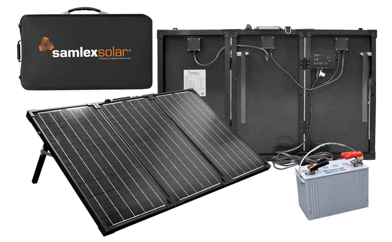 MSK135 - Samlex 135 Watt Portable Solar Charging Kit