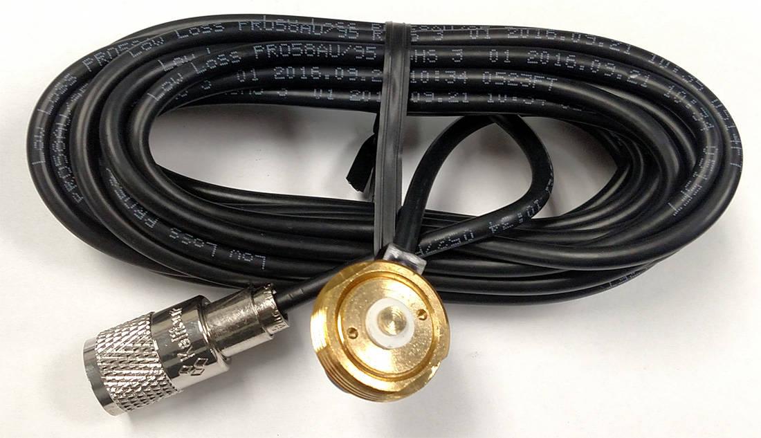 MSM17 - ProComm 17' Rg58Au Coax Cable