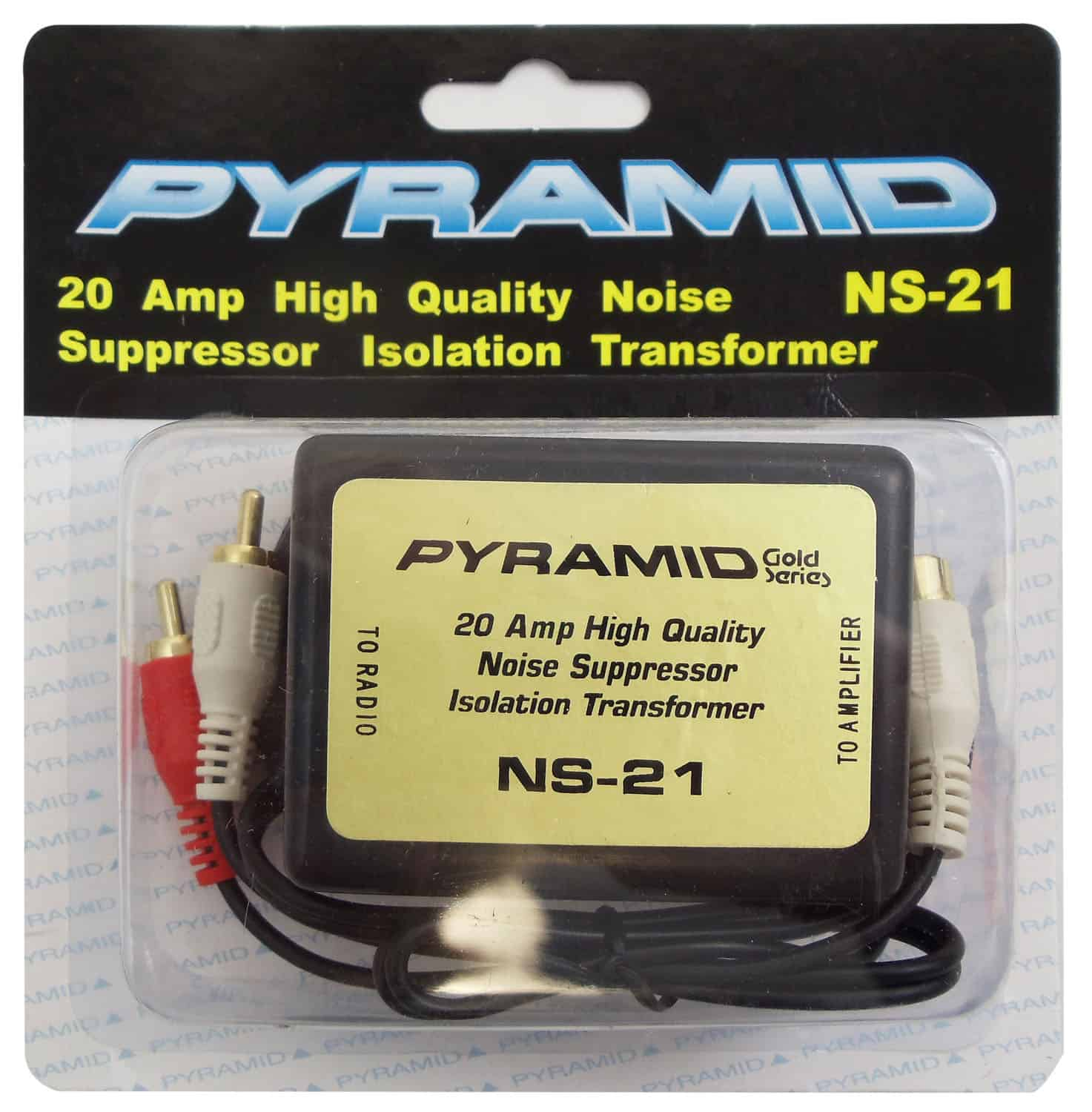 NS21 - Pyramid 20 Amp Inline Noise Suppressor Filter