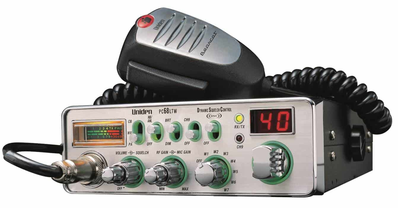 PC68LTW - Uniden Cb Radio With Weather Alert