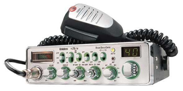 PC78LTW - Uniden Bearcat Cb Radio
