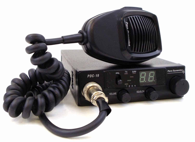 PDC19 - Para Dynamics 40 Channel 7 Watt CB Radio