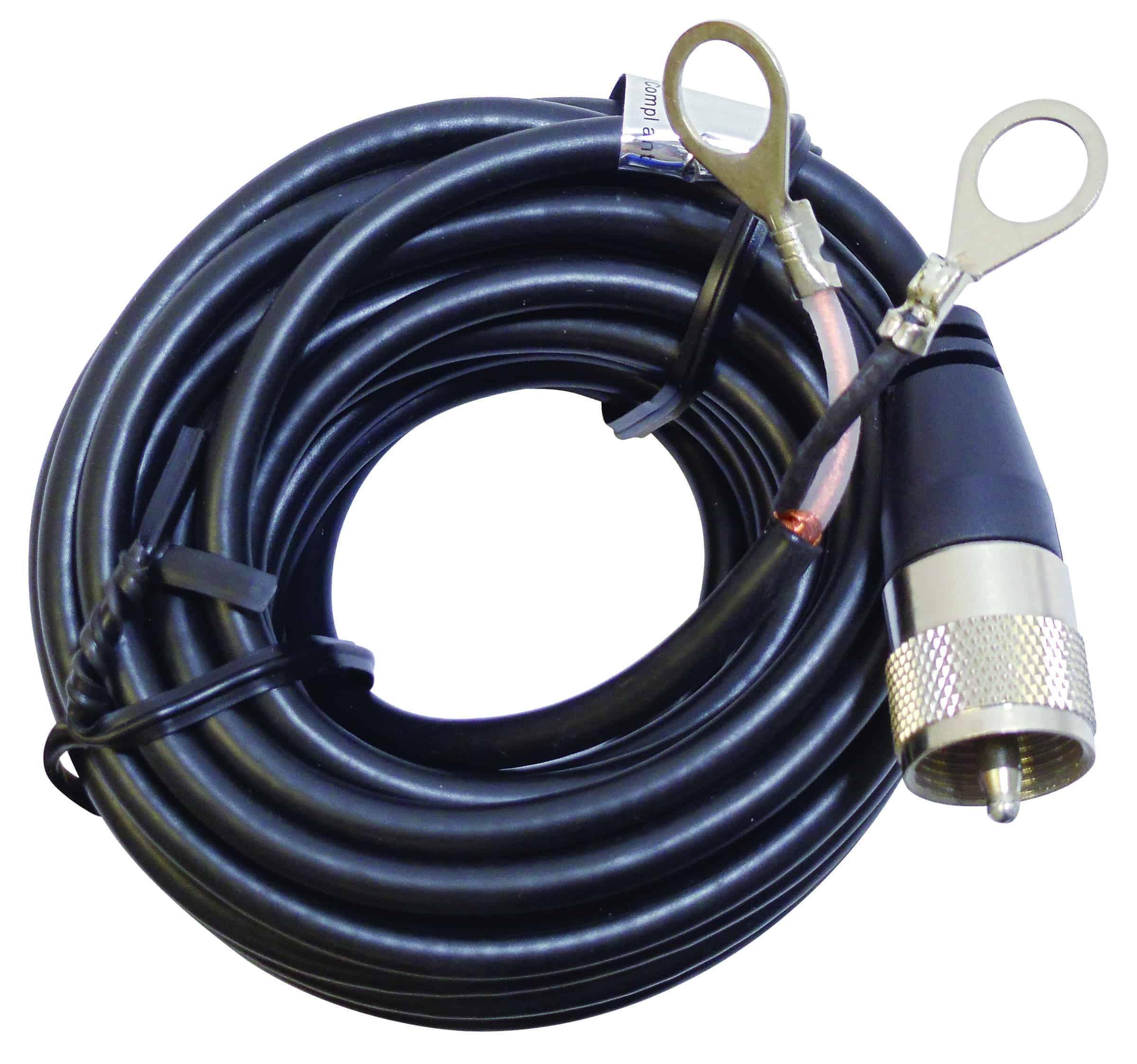 PL12X - Marmat 12' Single Lead Coax Cable