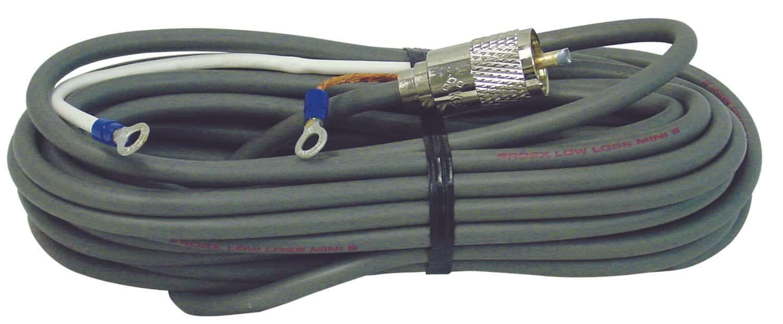 PL8X28.5-M - ProComm 28.5' Low Loss RG8X Coax Cable