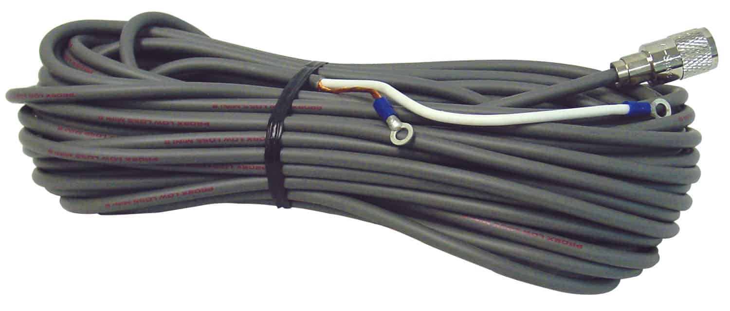 PL8X60-S - ProComm 60' Low Loss RG8X Coax Cable