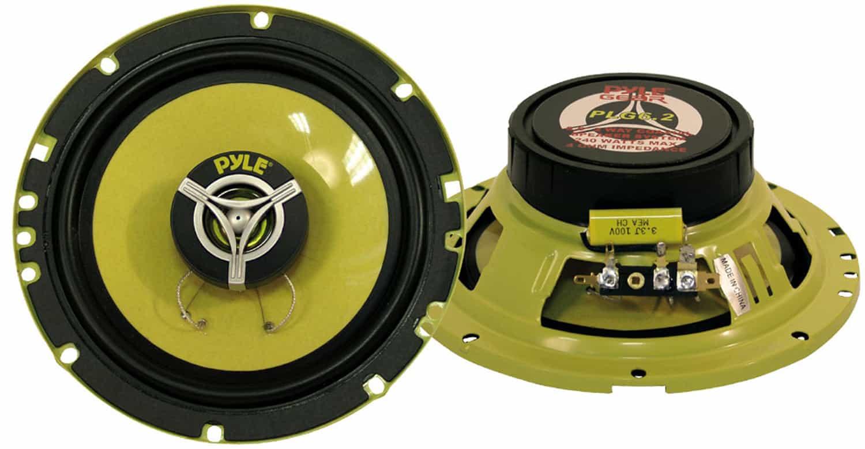 """PLG52 - Pyle 5.25"""" 140 Watt Coaxial Speaker Pair"""