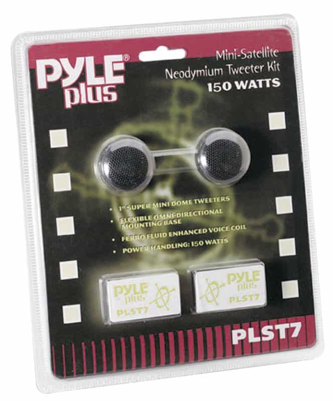 """PLST7 - Pyramid Pyle 150 Watt 1"""" Tweeter Speaker"""