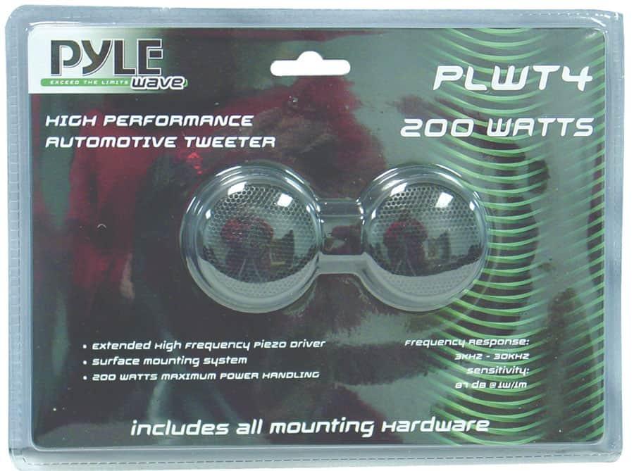 PLWT4 - Pyramid Surface Mount Piezo Tweeter Speaker Pair