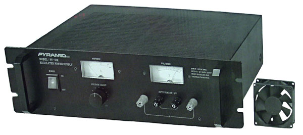 PS52K - Pyramid PS52K Regulated 52 Amp Power Supply