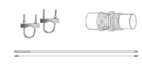 PATRIOT - Procomm 12 Foot Cb Base Antenna