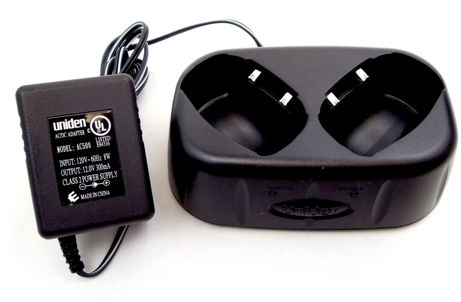 RC5248 - Uniden Dual Port Drop-In Charger