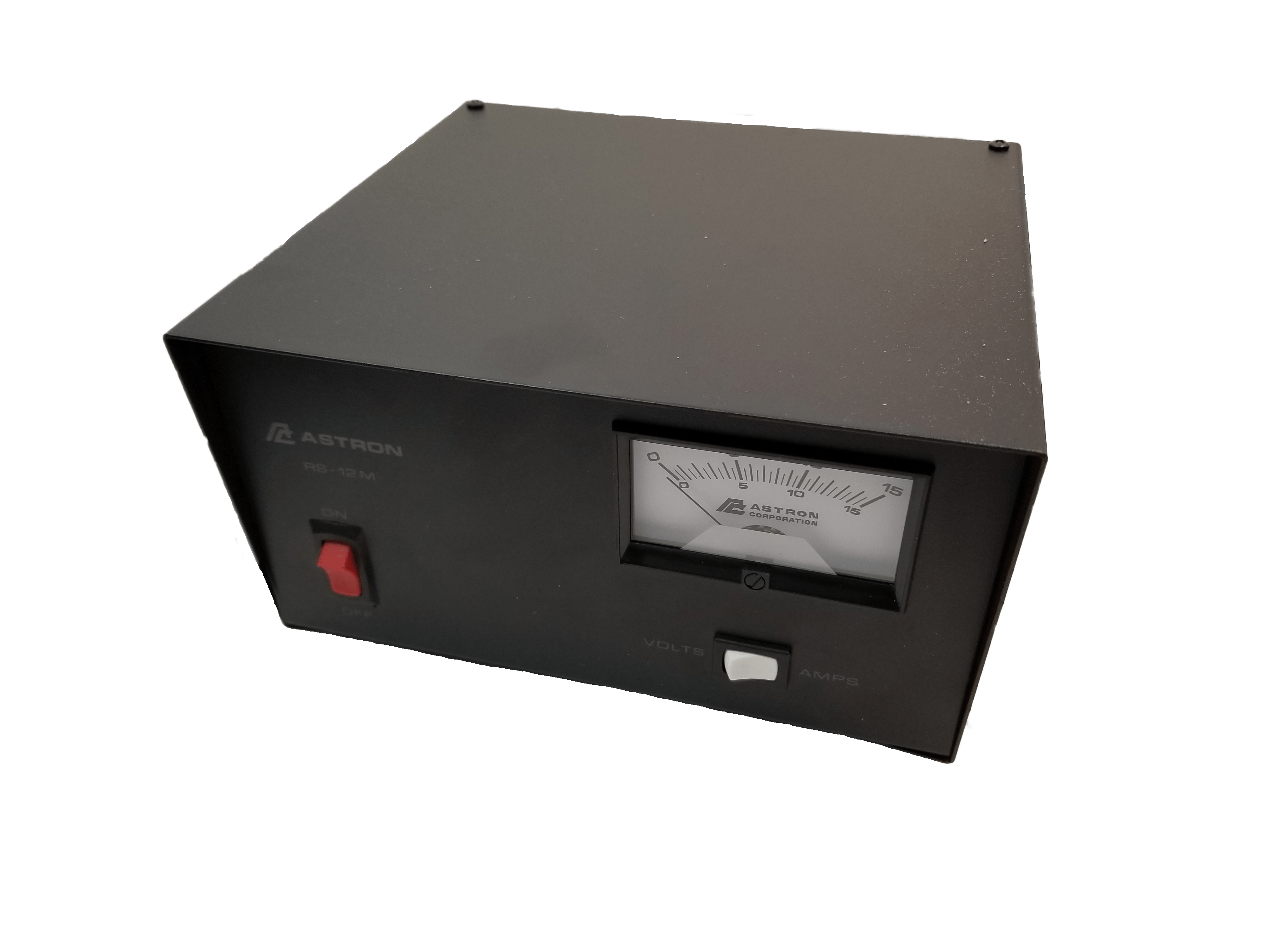RS12M - Astron 12 Amp Power Supply W/Meter