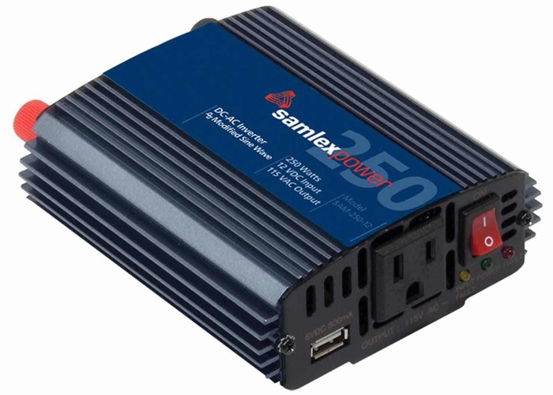 SAM25012 - Samlex 250 Watt 12Dc-115Ac Inverter