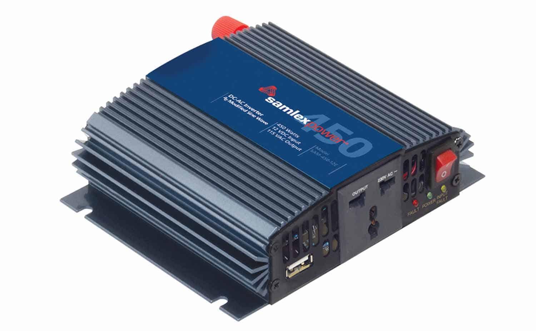 SAM45012 - Samlex 450 Watt Inverter