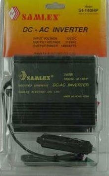 SI140HP - Samlex Dc to Ac 140 Watt Power Inverter