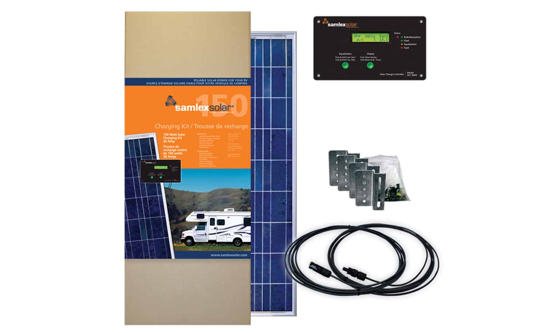 SRV15030A - Samlex 150 Watt Solar Charging Kit