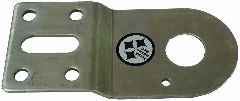 "SS18N - Firestik Stainless Steel Dodge Antenna Bracket 3/4"" Hole-No Stud"
