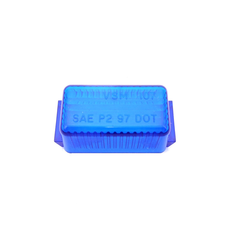 04910715B - Mini Blue Rectangular Lens - Bulk