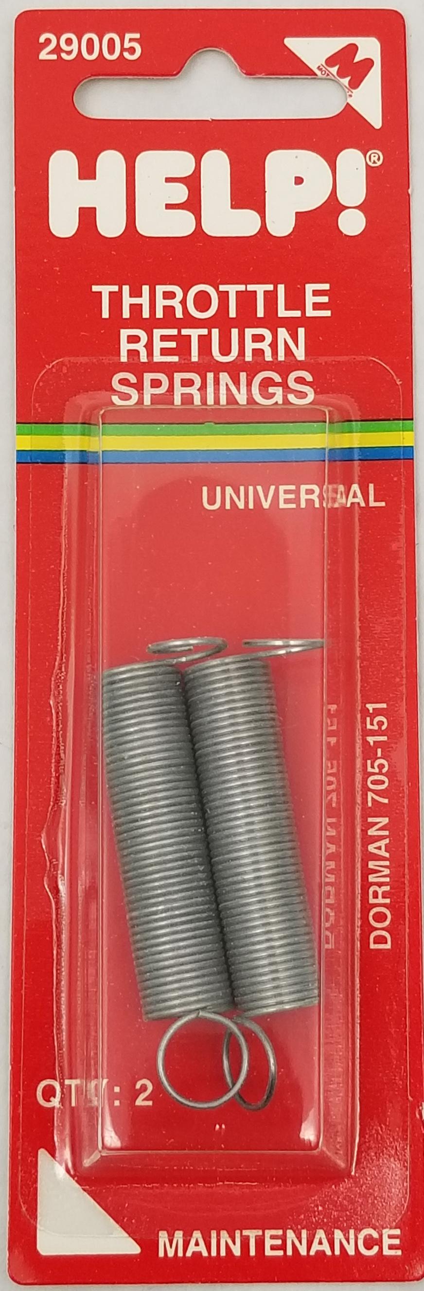 05529005 - Universal Throttle Return Spring