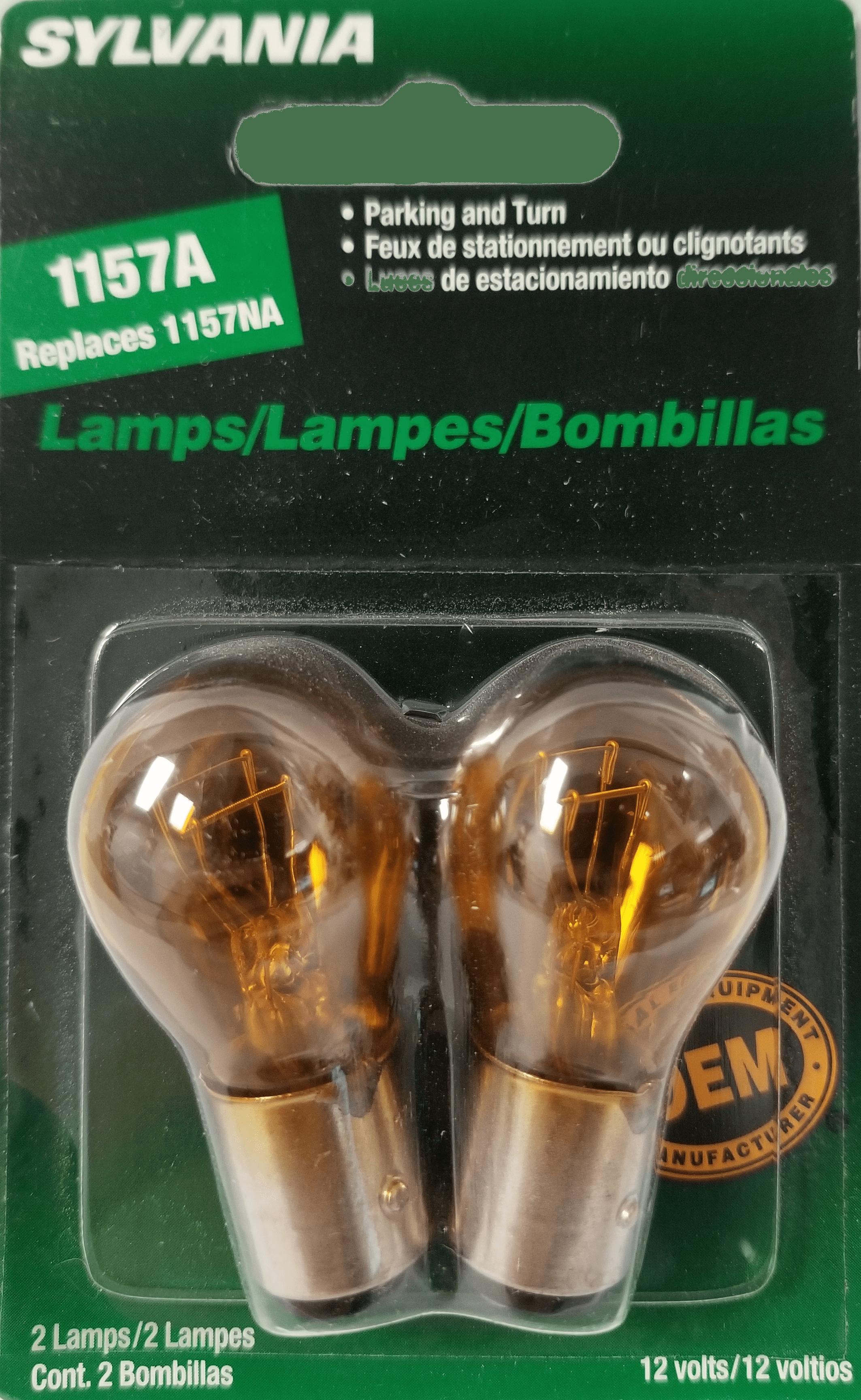064BP1157NA - Natural Amber Replacement Lamp, 2/Card