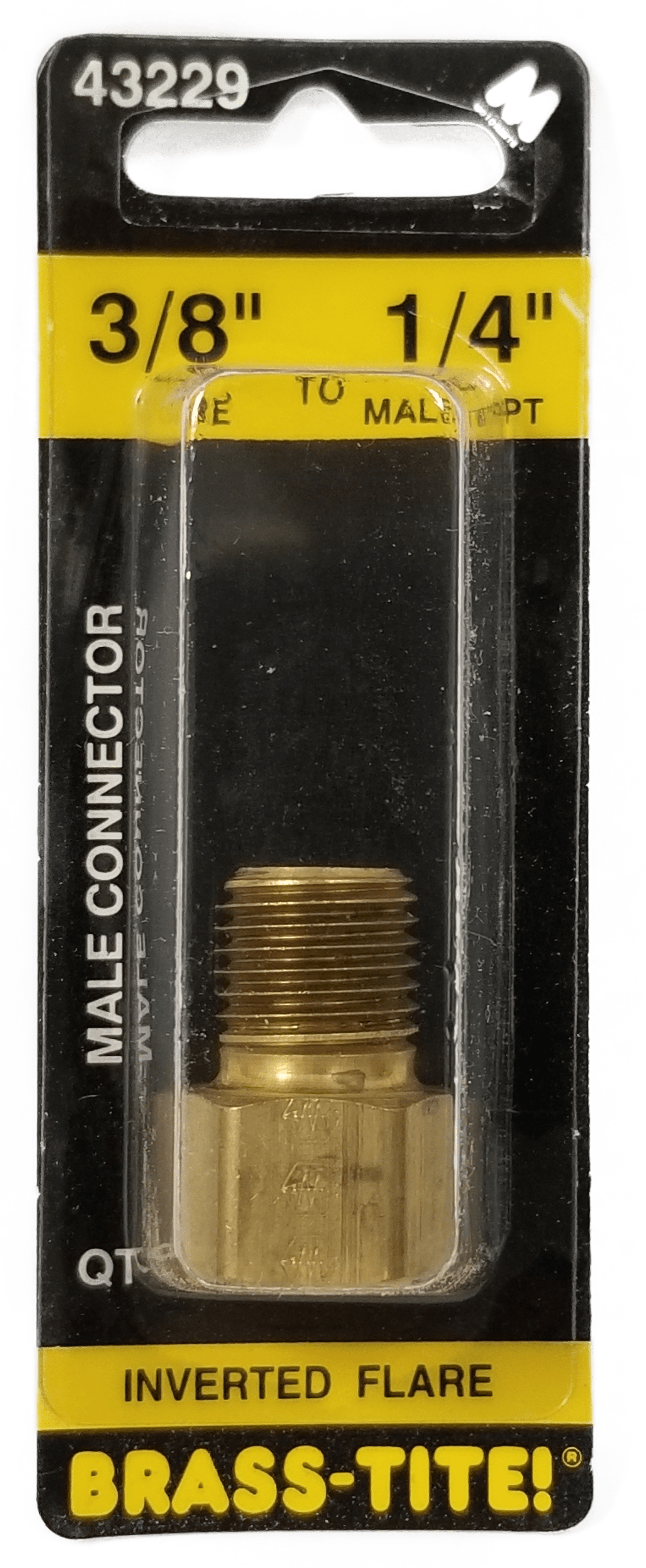 07443229 - Inverted Flare Connector (Brass)