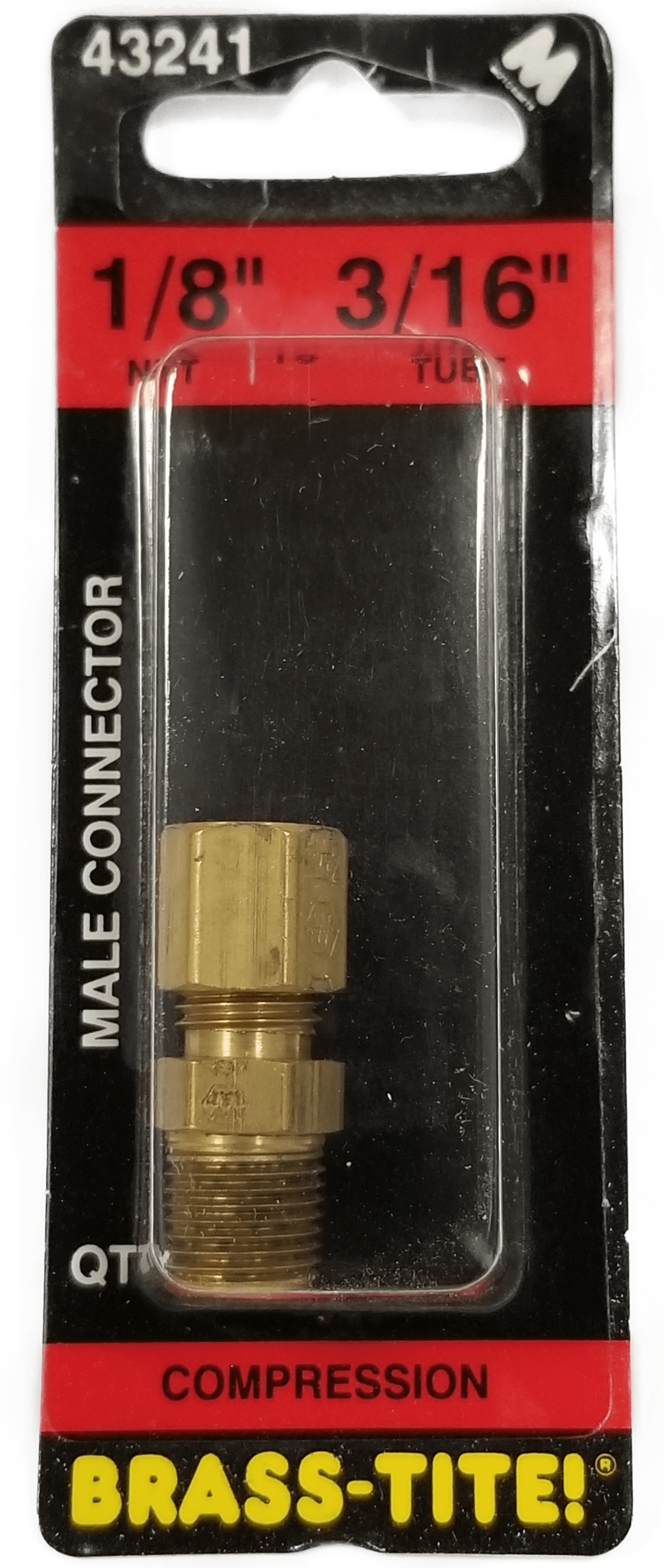 07443241 - Compression Connector (Brass)