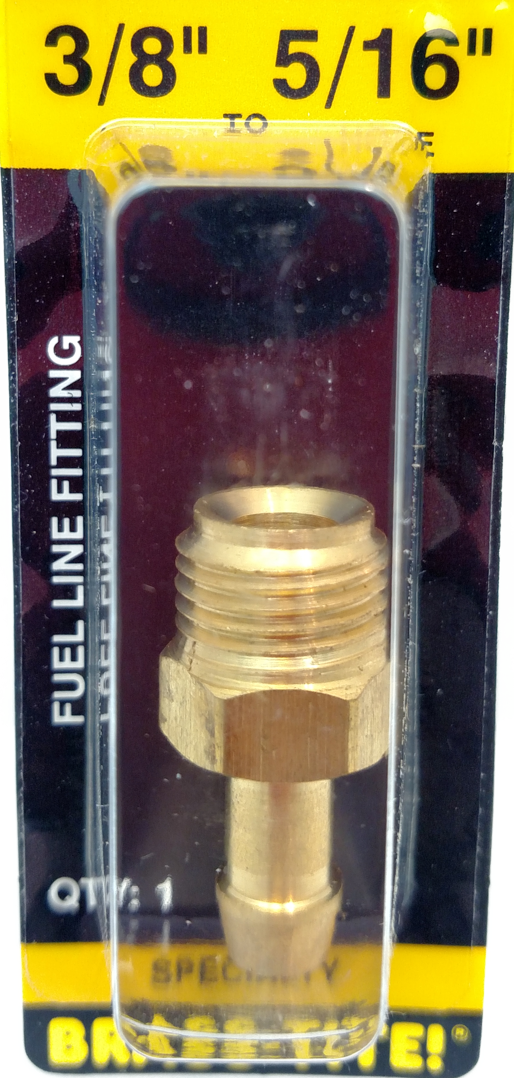 07443280 - Fuel Line Fitting (Brass)