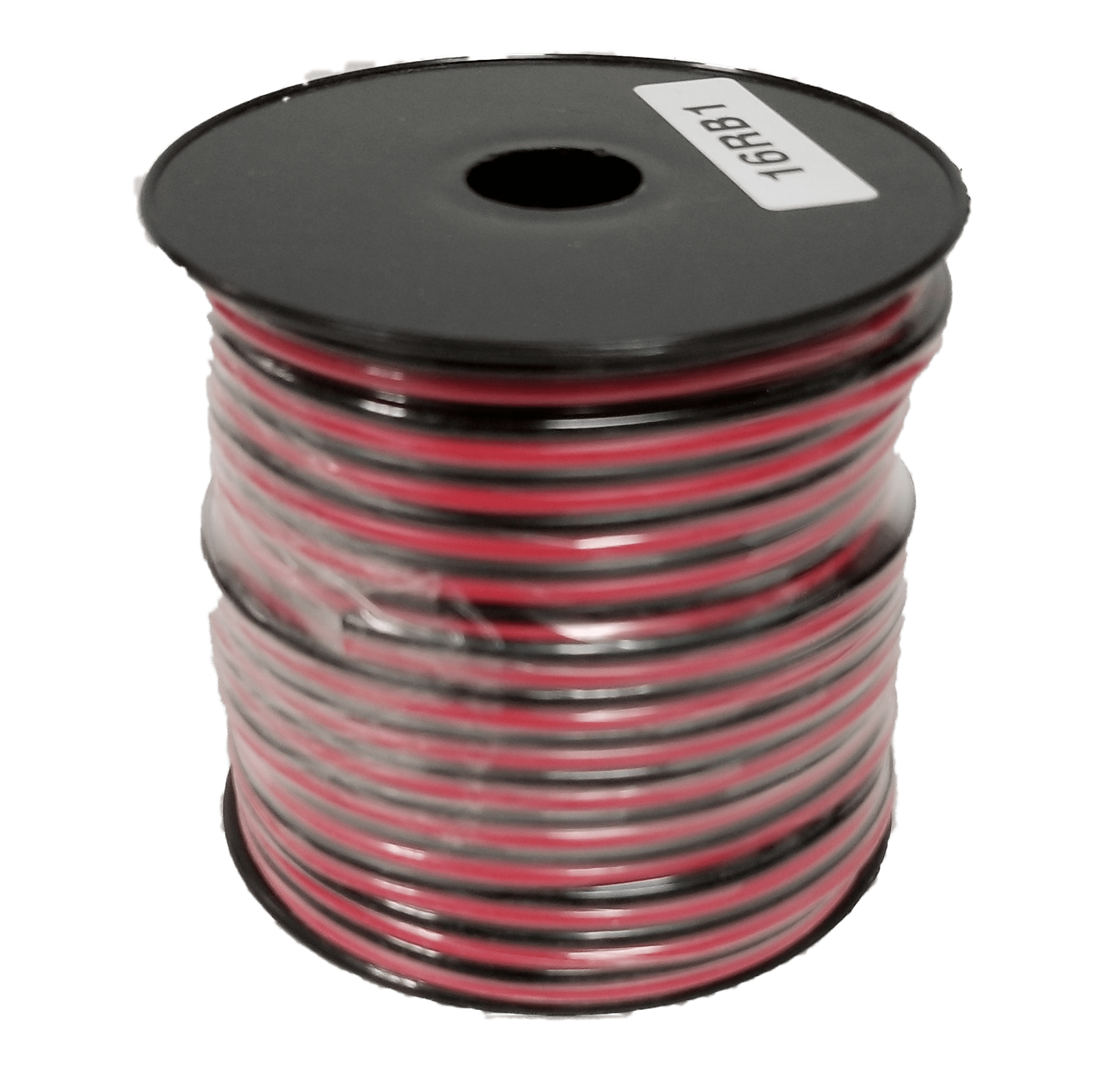 16RB1 - Twinpoint 16 Gauge Zip Wire (Red/Black) 100 Ft Spool