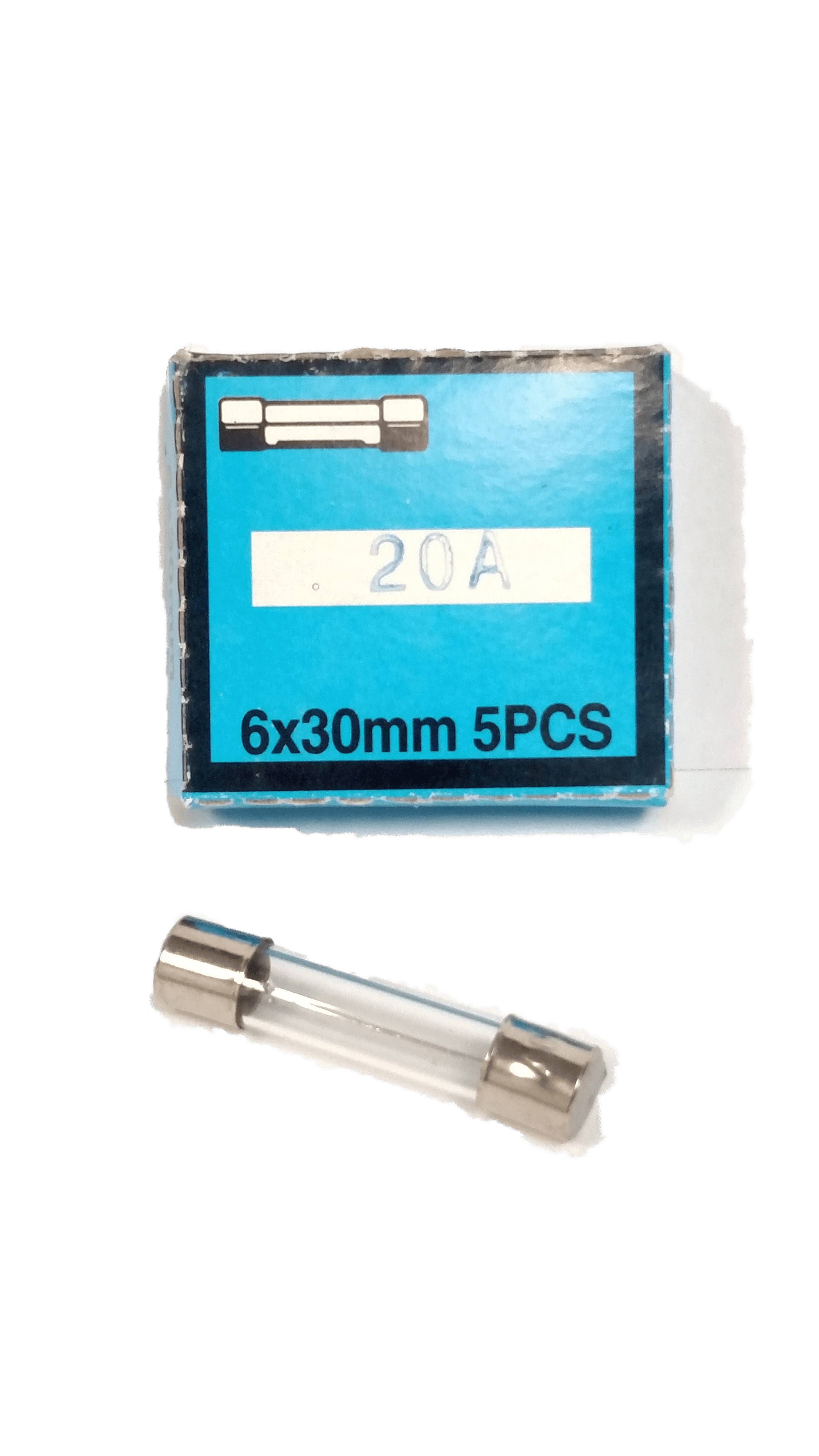 20AMP - Twinpoint 20 Amp Glass Fuses (Box Of 5)
