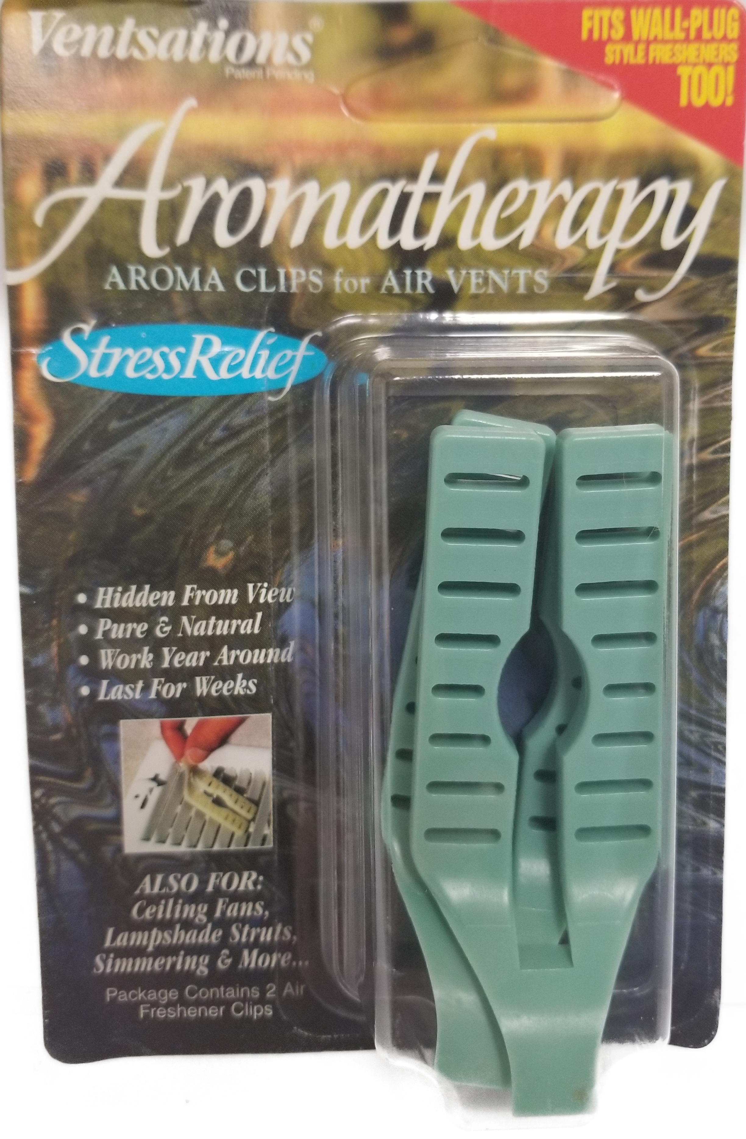 26919355 - Aroma Clips Stress Relief