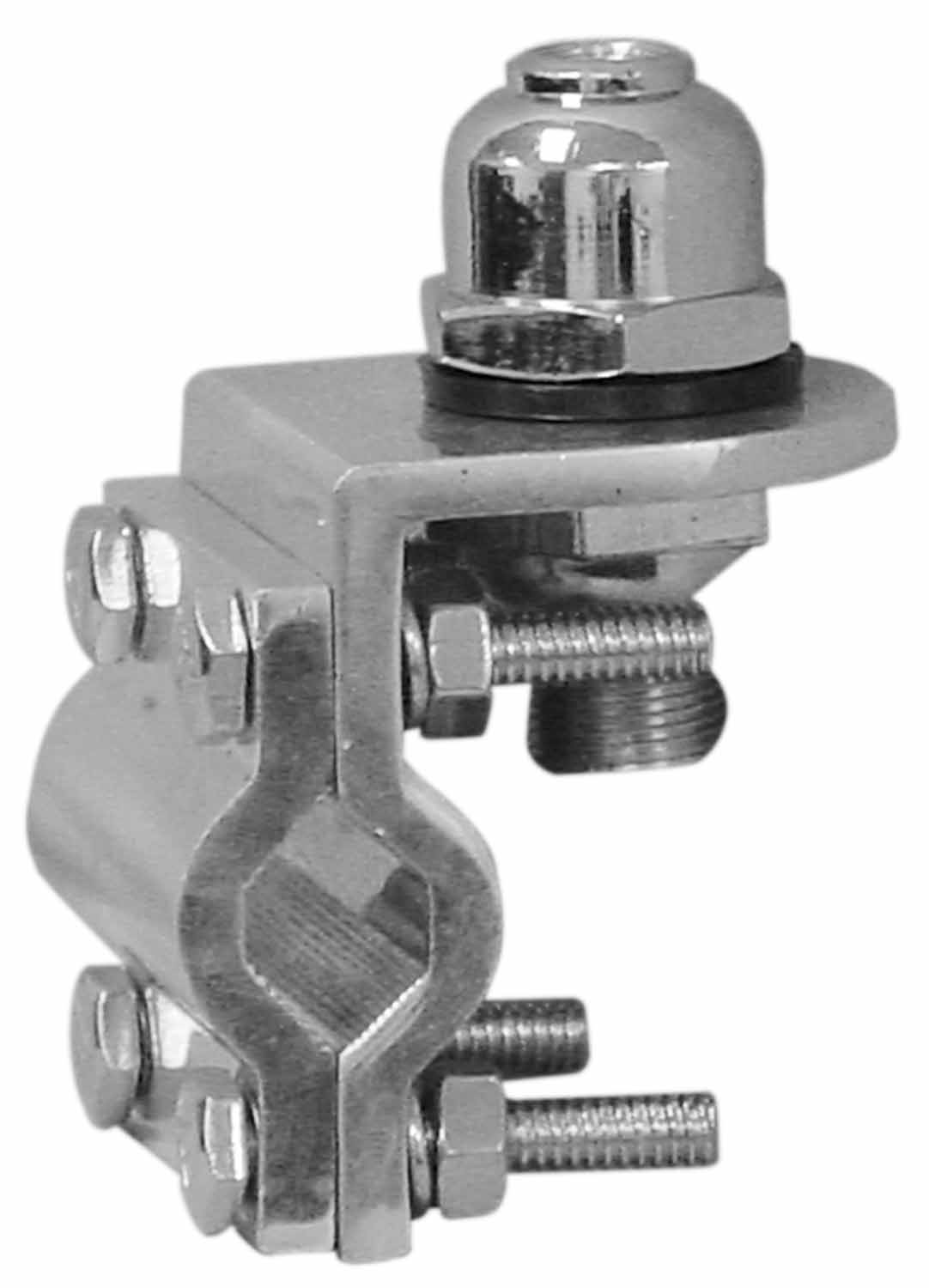 30053707 - Double Groove Antenna Mount with Dome Stud