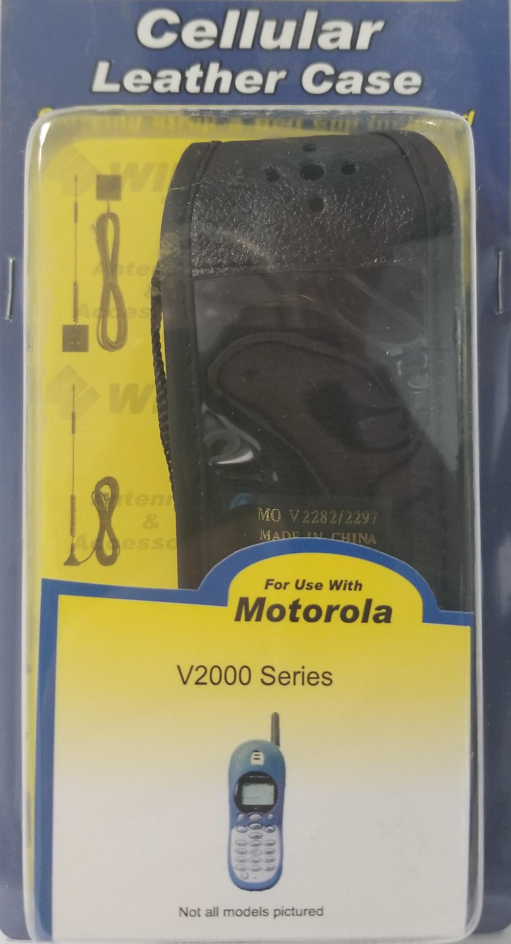 301181 - Motorola V2000 Series Leather Case