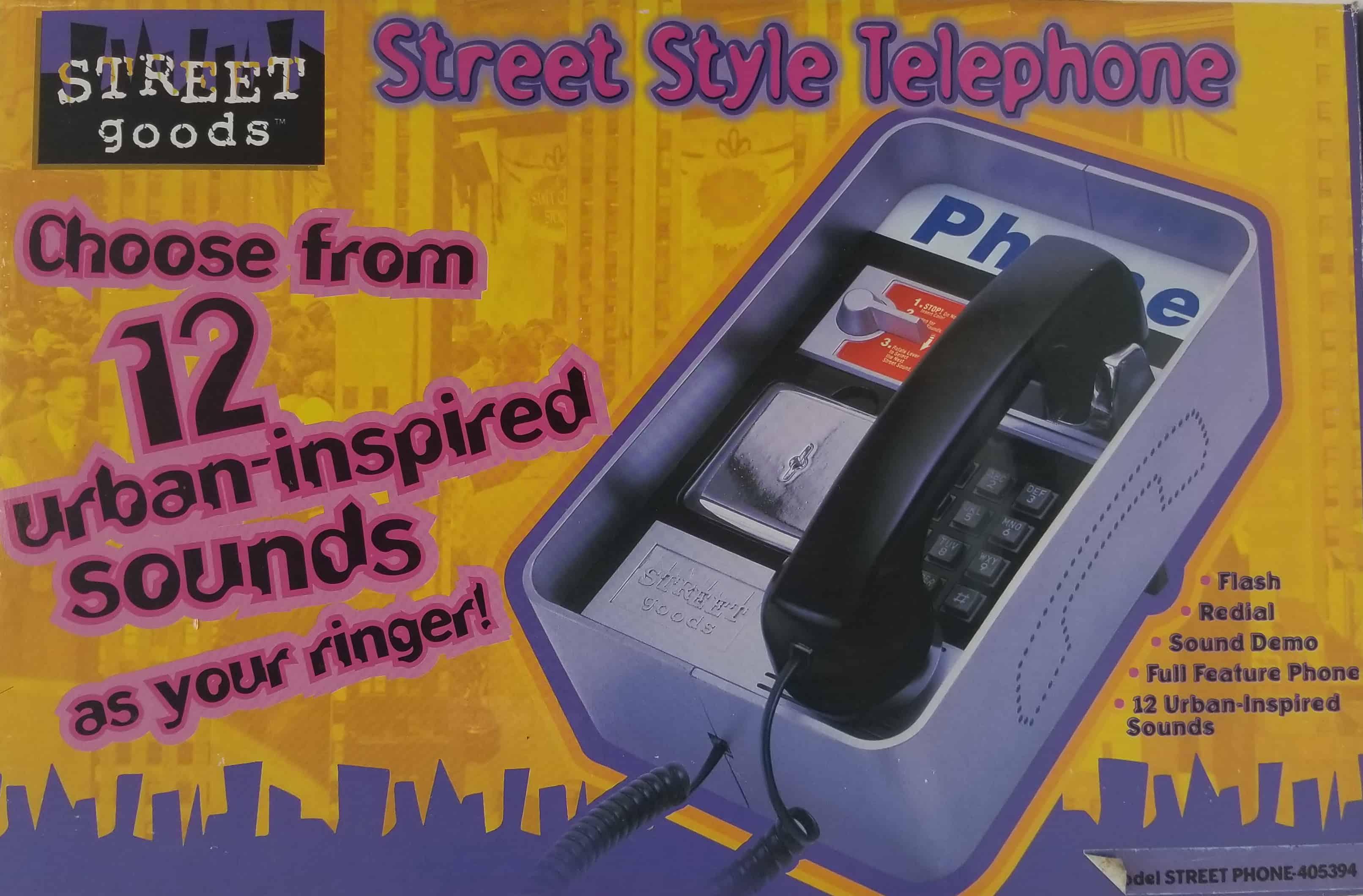 327405394 - Street Phone Animated Phone