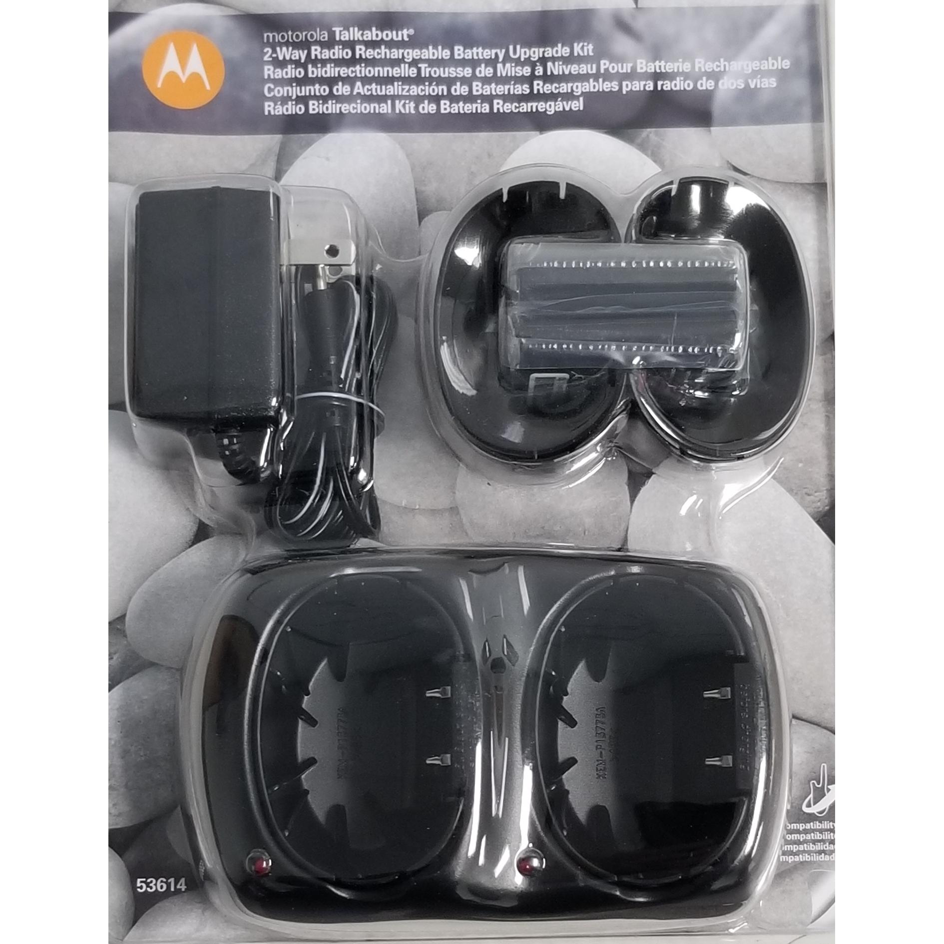 53614 - Motorola Nimh Recharge Battery Charger Upgrade Kit
